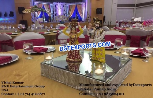 Punjabi Culture Center Table Decoration Statue