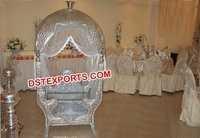 Latest Silver Metal Moroccan Wedding Doli