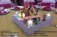 Punjabi Theme Center Table Decoration