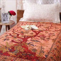 Orange-A-cotton Tree Of Life Tie Dye  bedsheets  bed covers Hippie Bohemian Tapestry Wall Hanging