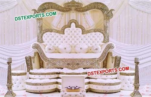 Royal Maharaja Wedding Sofa Love Seater