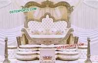 Royal Maharaja Wedding Sofa Love Seater
