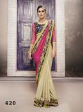 Designer Western Sarees