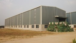 Hot Rolled Steel Industrial PEB Sheds