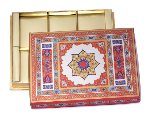 Royal Dry Fruit box 4 part & 6 part (Covered)