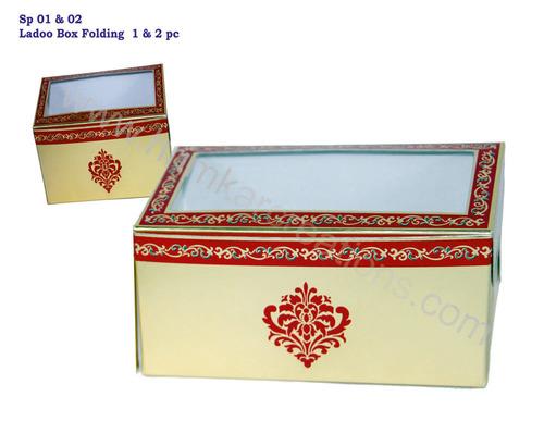 Folding Ladoo box