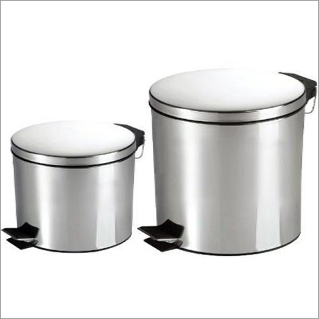 Stainless Steel Foot Pedal Dustbin