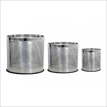 Stainless Steel Open Dustbin