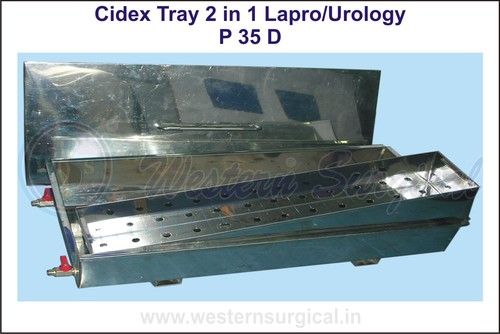 CIDEX TRAY 2 IN 1 Lapro/Urology
