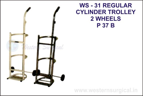 Regular Cylinder Trolley 2 Wheels