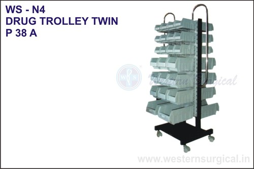 Drug Trolley Twin
