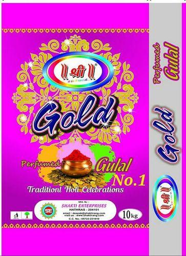 GOLD GULAL