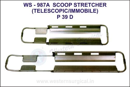Scoop stretcher (Telescopic/immobile)