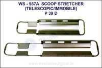 Scoop stretcher (Telescopic/immobile)