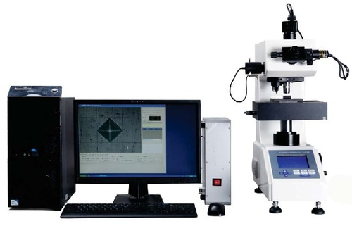 FULLY AUTOMATIC HIGH TECH DIGITAL MICRO  HARDNESS TESTER MODEL: AVHD-1000XY