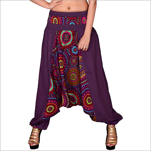 Dark Purple Afgani Trousers