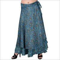 Poly Crepe Skirt