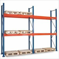 Pallet Rack with Decking Panel