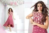 Designer Party Wear Georgette Kurti