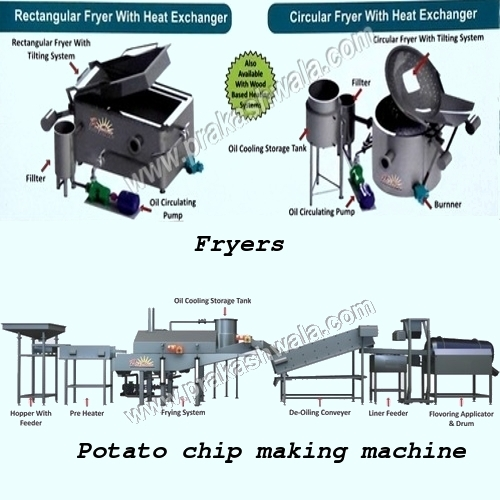 Continuous Namkeen Fryer System