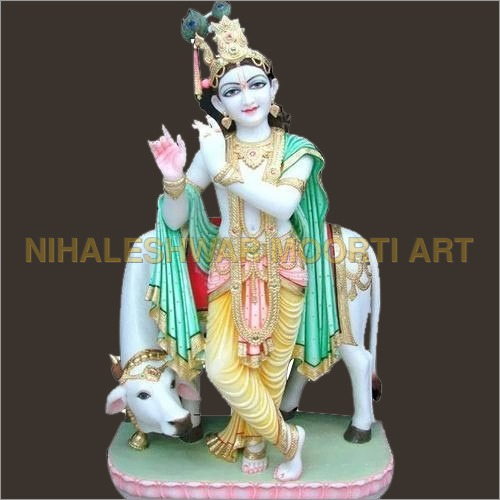 Krishna Marble Moorti