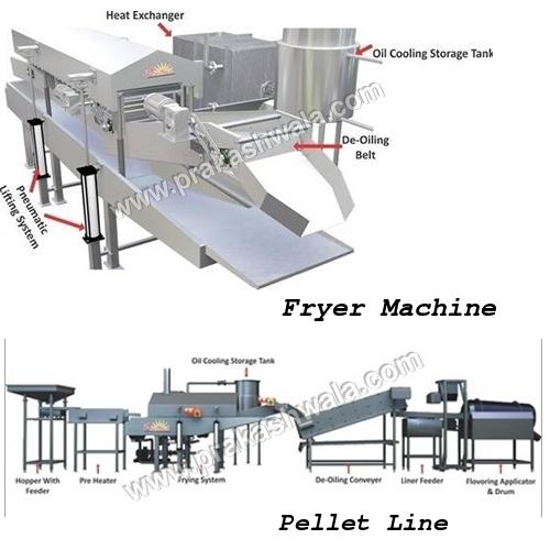 Fryer Machine & Pellet Line
