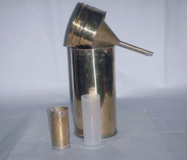 Brass Rain Gauge For Mathematics