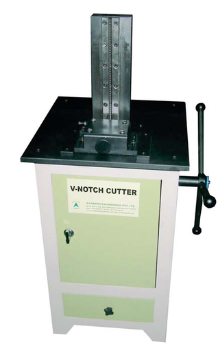 V Notch Broaching Machine