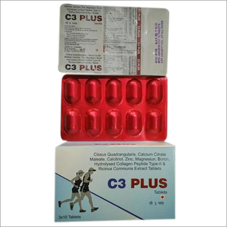 Cissus Quadrangularis, Collagen Peptide & CCM Tab