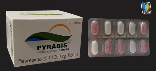 Paracetamol-1000mg SR Tablets (Sustained Release)