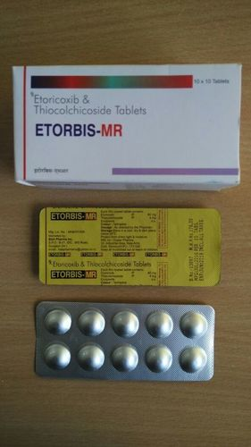 Thiocolchicoside-4mg With Etoricoxib-60mg Tablets