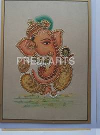 Morden Ganesh Painting on Paper