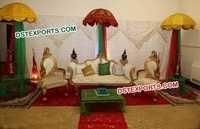 Wedding Leaf Chairs Furniture Set