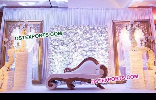 Beautiful Italian Sofa Wedding Stage