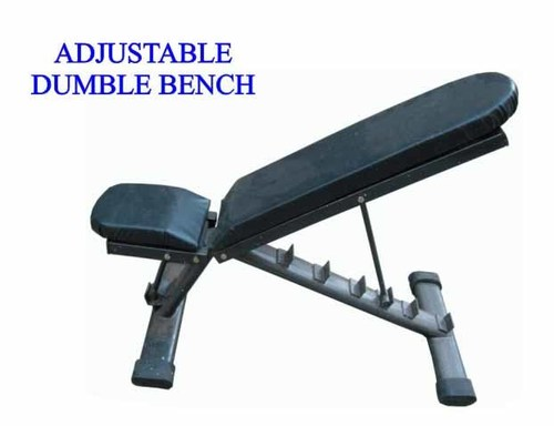 ADJUSTABLE DUMBLE BENCH