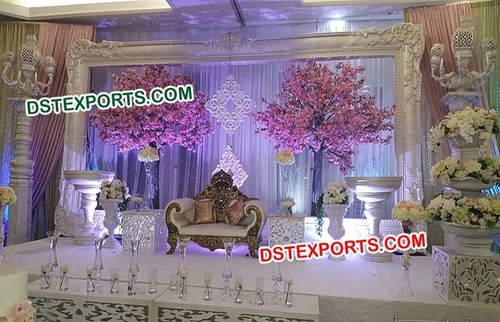 Aladdin Wedding Big Frame Panel Stage