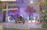 Aladdin Wedding Big Frame Panel Stage