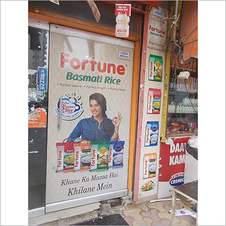 Shop Branding Advertising Material