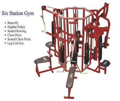 6 Station gym