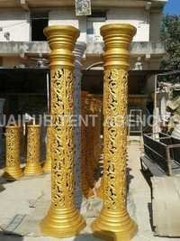 Fiber Mandap Pillars