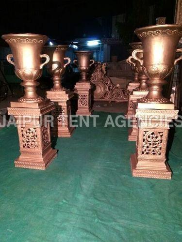 Wedding Fiber Pillars