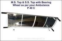 MS Top & S.S. Top with Bearing wheel as per your Ambulance