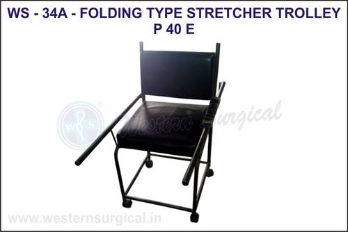 Folding Type Stretcher Trolley