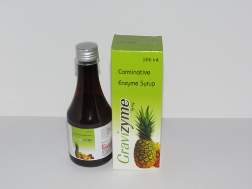 Carminative And Digestive Enzyme Syrup