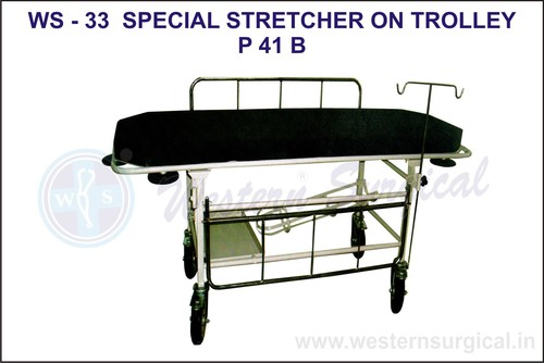 Special Stretcher On Trolley