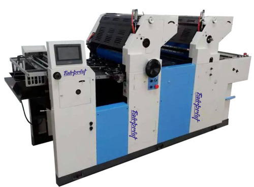 Two Color Non Woven Offset Printing Machine