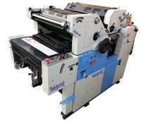 Two Color Non Woven Satellite Offset Printing Mach