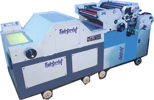 Double Color Polythene Printing Machine