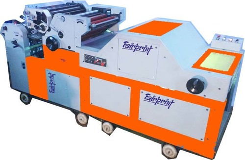 Two Color Poly Printing Machine