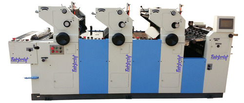 Three Color Carry Bag Printing Machine